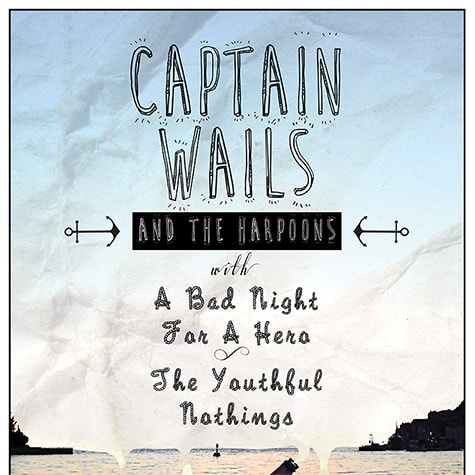 Captain Wales and The Harpoons Poster