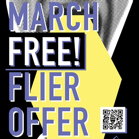 March Free Flier Offer 2016