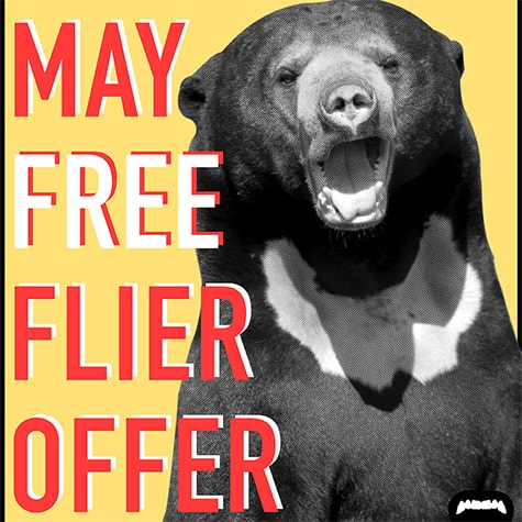 May Free Flier Offer