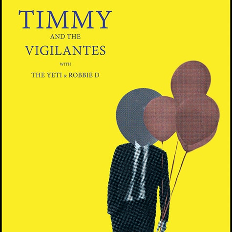 Timothy and the Vigilantes Flier