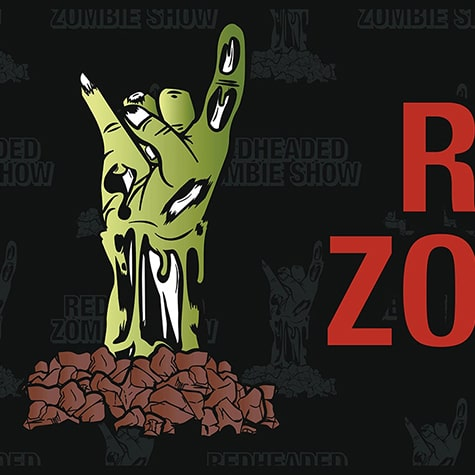RedHeaded Zombie Show Banner 2019